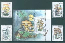 BELARUS  - 1999 -  MNH/** - MUSHROOMS - Yv 312-315 BLOC 22A - Lot 18898 - Belarus