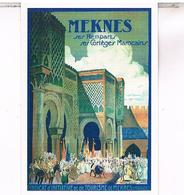PUBLICITE   MAROC MEKNES  CPM  TBE MA22 - Meknès