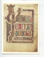 The Lindisfarme Gospels Saint Matthew's Gospel (manuscrit Enluminures Island) - Arts