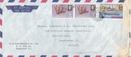 Barbados 1970 Bridgetown Sea Scouts Coral Cover - Padvinderij