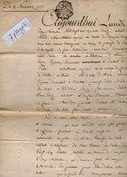 VP14.308 - Cachet Généralité D'ORLEANS - Grand Acte ( 24 X 39 ) De 1772 Concernant Le Bourg Et La Paroisse De LA  BAULE - Cachets Généralité