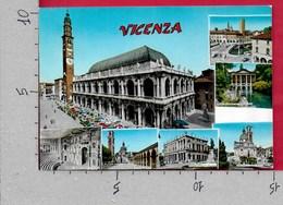 CARTOLINA VG ITALIA - Saluti Da VICENZA - Vedutine Multivue - 10 X 15 - ANN. 1970 - Saluti Da.../ Gruss Aus...