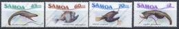 Iles Salomon, Yvert 628/631, Scott 692/695, MNH - Samoa