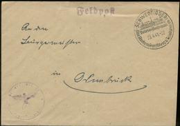 WW II Briefumschlag Feldpost: Mit Sonderstempel, Schwedt Oder - Osnabrück 1941. - Allemagne