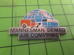 513J Pin's Pins / Beau Et Rare : Thème MARQUES / MANNESMAN DEMAG AIR COMPRIME - Trademarks