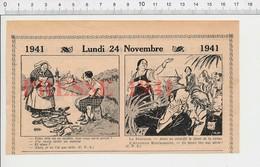 2 Scans Presse 1941 Humour Accident Vélo Sirène Alerte Bombardement Guerre 40 Devanture De Cinéma Affiche Ancienne 223XT - Non Classés