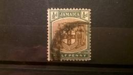FRANCOBOLLI STAMPS GIAMAICA JAMAICA 1903 USED COAT OF ARMS - Giamaica (1962-...)