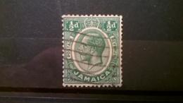 FRANCOBOLLI STAMPS GIAMAICA JAMAICA 1927 USED KING GEORGE V RE GIORGIO V - Giamaica (1962-...)