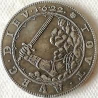 RÉPLICA Moneda Alemania. Christian De Halberstadt. 1 Thaler. 1622 - Taler Et Doppeltaler