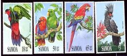 Iles Salomon, Yvert 724/727, Scott 786/789, MNH - Samoa