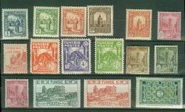 FRANCE COLONIES - TUNISIE -  Poste  YT N° 161 164 165 167 168 212 244 258 261 262 273 274 275 294 297 314 Neufs** Tb - Tunisia (1888-1955)