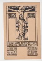 26639 RENNES France 35 -5ieme Congres Eucharistique National 1925 Christ Messe -ed (sans) 1940 - Rennes