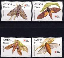 Iles Salomon, Yvert 730/733, Scott 797/800, MNH - Samoa