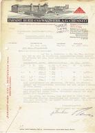 Brief 1939 CHEMNITZ - FARADIT ROHR UND WALZWERK - Allemagne