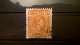 FRANCOBOLLI STAMPS GIAMAICA JAMAICA 1938 USED KING GEORGE VI RE GIORGIO VI - Jamaique (1962-...)