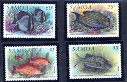 Iles Salomon, Yvert 755/758, Scott 819/822, MNH - Samoa