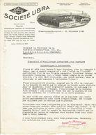 Brief 1933 - GLIESMARODE-BRUNSWICK - SOCIETE LIBRA -Fabrique De Balances - Allemagne