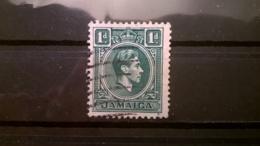 FRANCOBOLLI STAMPS GIAMAICA JAMAICA 1938 USED KING GEORGE VI RE GIORGIO VI - Giamaica (1962-...)