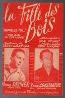 """Partition La Fille Des Bois  """"rappelle-toi"""" Chanté Par Eddie Constantine Sur Disque Mercury En 1951 - Musique & Instruments"""