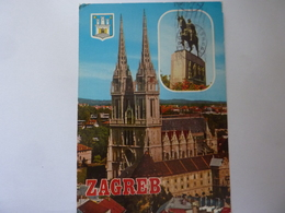 """Cartolina Viaggiata """"ZAGREB"""" 1978 - Jugoslavia"""