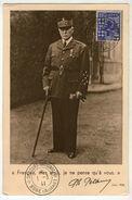 CPSM   MARECHAL PETAIN   1941      FRANCAIS MES AMIS     JE NE PENSE QU A VOUS - Weltkrieg 1939-45