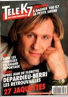 Tele K7 N°379 Decembre 1990 Depardieu Berri Mouscouri  +++TBE+++ PORT GRATUIT - Fernsehen