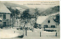 90 - Giromagny  Et Ses Environs - Les Vosges En Hiver - Giromagny