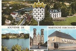 Rare Cpsm Martigné-Ferchaud Multi-vues - Altri Comuni