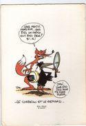 CPM     FABLES DE LA FONTAINE     ILLUSTRATEUR ERIC ALARD     LE CORBEAU ET LE RENARD - Fairy Tales, Popular Stories & Legends