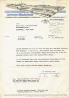 Brief 1940 HILDEN - HERMANN WIEDERHOLD - Lack Und Lackfarben Fabriken - Allemagne