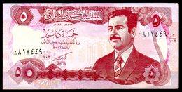 IRAK. Billet De 5 Dinars. Saddam Hussein. - Iraq