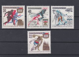 Ceskoslovensko 1972 Sapporo Olympic Games  MNH/**  (H34) - Winter 1972: Sapporo