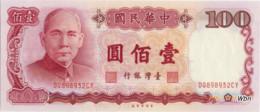 Taiwan 100 NT$ (P1989) -UNC- - Taiwan