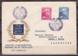 PORTUGAL - 1952 - FDC - Voir Scan - FDC