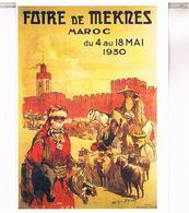 PUBLICITEL   MAROC FOIRE  DE MEKNES  CPM  TBE MA33 - Meknès