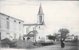 MONTANS, Près Gaillac - L'Eglise Et La Mairie. - Francia