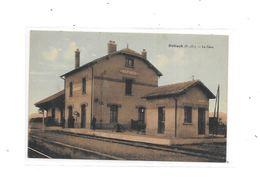 66 - NEFIACH : La Gare, Thème Chemin De Fer Carte Pas Courante, - Autres Communes