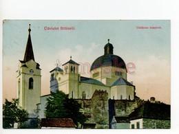 Bölön  Belin Blumendorf Böllen  Unitáriustemplom - Romania
