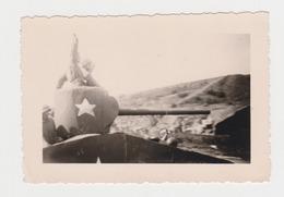 Guerre 40/45 SPRIMONT 1944 Char US Army Avec Soldats GI - Guerre, Militaire