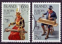 ISLAND Mi. Nr. 632-633 O (A-1-42) - 1944-... Republik