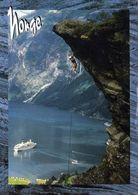 1 AK Norwegen * Geirangerfjord Mit Dem Aussichtspunkt Flydalsjuvet * Seit 2005 UNESCO Weltnaturerbe * - Norwegen