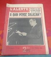 L'Alerte  N°128 Février 1943 Salazar,Edith Piaf,Serge Lifar,Livradois Collangettes,Tunisie Affaire De Gafsa - Books, Magazines, Comics