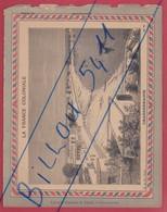 Protége Cahier Ancien La France Coloniale Chandernagor - Protège-cahiers