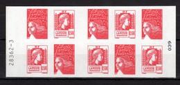 FRANCE CARNET AUTOADHESIFS 1512 LES 60 ANS DE LA MARIANNE D'ALGER. VOIR SCAN RECTO / VERSO - Markenheftchen