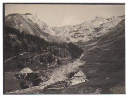 Photo Des Basses Alpes -Vallée De L'Ubaye-Vallon De Chauvel En Face Du Col De Valgelaye (col D'allos) - Fotos