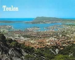 83 - TOULON - Vue Aérienne Générale Prise Du Mont-Faron - Toulon