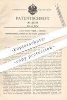 Original Patent - Carl Endruweit , Berlin , 1900 , Stopfbüchsenverpackung | Stopfbüchse | Lokomotive , Schiff , Kolben - Historische Dokumente