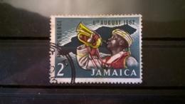FRANCOBOLLI STAMPS GIAMAICA JAMAICA 1962 USED SERIE INDEPENDENCE OF JAMAICA - Jamaique (1962-...)