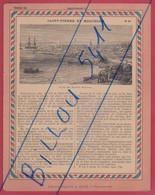Protége Cahier Ancien La France Coloniale Saint-Pierre Et Miquelon - Book Covers