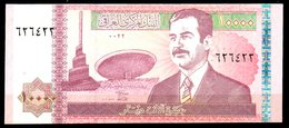 IRAK. Billet De 10000 Dinars. Saddam Hussein. - Iraq